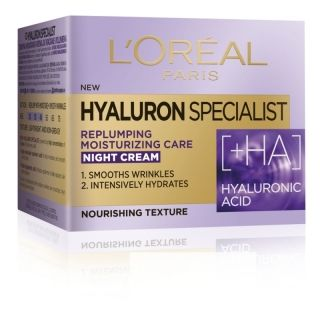 ХИДРАТИРАЩ ДНЕВЕН КРЕМ LOREAL HYALURON SPECIALIST REPLUMPING MOISTURE 50ml SPF20