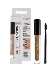 LOREAL UNBELIEVA BROW GEL 3.4ML (VARIOUS SHADES)
