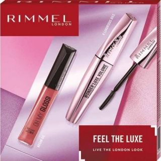 RIMMEL GIFT SET EXTRA SUPER LASH + STAY MATTE POWDER 01