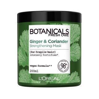 МАСКА ЗА ТЪНКА КОСА LOREAL BOTANICALS CORIANDER HAIR MASK 200ML