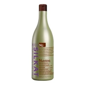 BES Silkat Nutritivo N2 Leave-in Conditioner for dry and damaged hair 1000ml