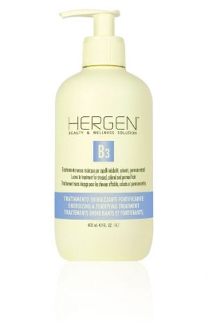 LEAVE IN TREATMENT FOR STRESSED HAIR BES HERGEN B3 BLUE LINE 400ml