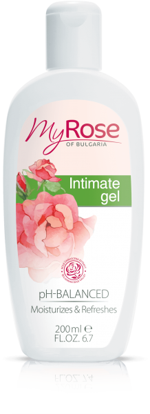 INTIMATE GEL WITH BULGARIAN ROSE EXTRACT MY ROSE 200ml
