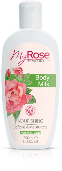 BODY MILK WITH NATURAL ROSE EXTRACT MY ROSE 250ml