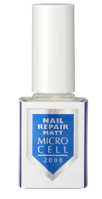 МАТИРАЩ ЗАЗДРАВИТЕЛ ЗА НОКТИ NAIL REPAIR МАТ MICROCELL 2000 12ml ПОДХОДЯЩ ЗА МЪЖЕ