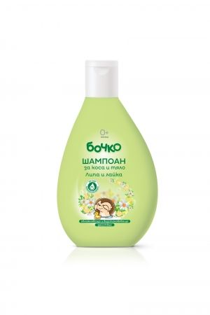 BABY SHAMPOO FOR HAIR AND BODY BOCHKO WITH LИНДЕН & CAMOMMILE 400 ml