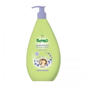 BABY SHAMPOO FOR HAIR AND BODY BOCHKO WITH LAVENDER 400 ml