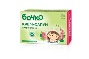 BABY CREAM-SOAP BOCHKO 75ml WITH LAVENDER, CALENDULA,CAMOMMILE