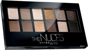 MAYBELLINE EYESHADOW PALLETE THE NUDES