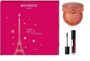 ПОДАРЪЧЕН КОМПЛЕКТ BOURJOIS VOLUME REVEAL ADJUSTABLE СПИРАЛА + РУЖ LE DUO BLUSH #01 Soft pink