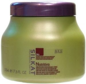 BES Silkat Nutritivo Repairing Mask for dry and damaged hair 500ml