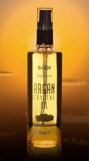 Biopharma Bio Oil Argan Crystal oil Флуид за коса с арган 60ml