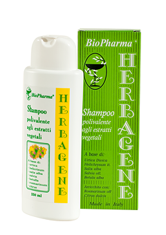 Biopharma Herbagene Shampoo against hair loss, greasy roots and dry ends 250ml