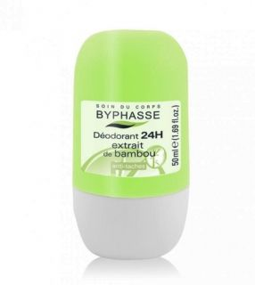 BYPHASSE 24H DEO ROLL ON BAMBOO EXTRACT 50ML FOR WOMEN