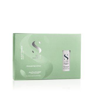 Ампули против косопад ALFAPARF Semi Di Lino Scalp Care Energizing Hair Loss Lotion 12x10ml