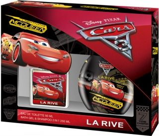 DISNEY CARS KT /EDT 50 МЛ+ДУШ-ГЕЛ 250 МЛ/