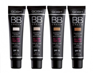 BB Крем Gosh BB Cream Foundation Primer Moisturizer SPF15 30ml (РАЗЛИЧНИ НЮАНСИ)