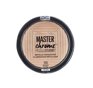 MAYBELLINE MASTER CHROME METALLIC HIGHLIGHTER MAKEUP POWDER 8g (VARIOUS SHADES)