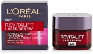 Дневен лифтинг крем против бръчки Loreal Revitalift Laser X3 Anti Ageing Day Care 50ml