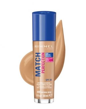 ФОН ДЬО ТЕН RIMMEL MATCH PERFECTION FOUNDATION 30ml 400