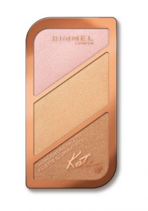 ПАЛИТРА ХАЙЛАЙТЪРИ  RIMMEL KATE BLUSH PALETTE 18.5g
