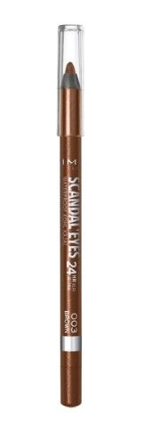 ОЛИВ ЗА ОЧИ RIMMEL SCANDALEYES WATERPROOF KOHL KAJAL  03 BROWN