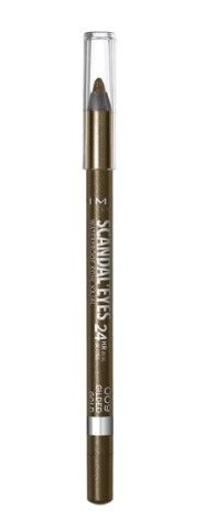 ОЛИВ ЗА ОЧИ RIMMEL SCANDALEYES WATERPROOF KOHL KAJAL  09 GOLD