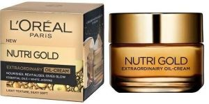 Подхранващ дневен крем Loreal Nutri Gold Extraordinary Nourishing Oil Cream 50ml