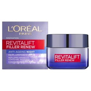 Анти-ейдж нощен крем Loreal Revitalift Filler Anti-Age Night Cream 50ml