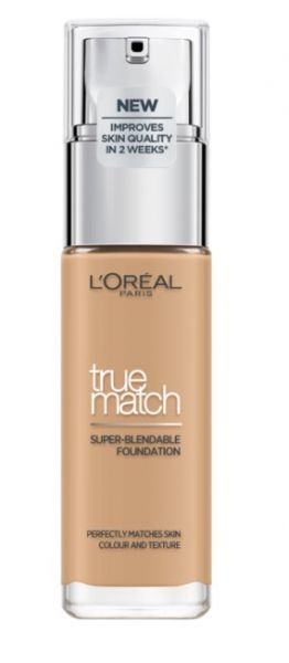 ФОН ДЬО ТЕН LOREAL TRUE MATCH LIQUID FOUNDATION 30ML 3W GOLDEN BEIGE