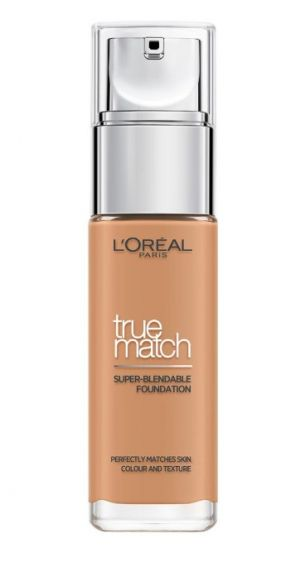 ФОН ДЬО ТЕН LOREAL TRUE MATCH LIQUID FOUNDATION 30ML 7W GOLDEN AMBER
