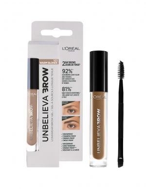 Гел за вежди Lоreal Unbelieva Brow Gel 3.4ml 103 WARM BLONDE
