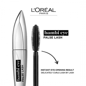 СПИРАЛА ЗА ИЗВИТИ МИГЛИ И ИНТЕНЗИВЕН ОБЕМ LOREAL bambi eyes