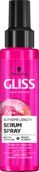 Спрей-маска за дълга коса Schwarzkopf Gliss Serum Spray Supreme Lenght 100ml