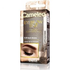 Боя за Вежди Delia Cameleo Eyebrow Tint Cream 15ml 3.0 Dark Brown