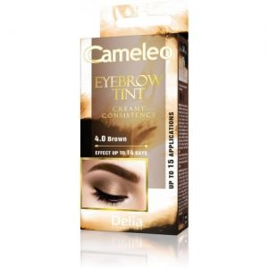 Боя за Вежди Delia Cameleo Eyebrow Tint Cream 15ml 4.0 Brown