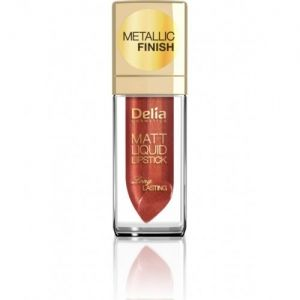 Червило Delia Liquid Matt METALLIC Finish Lipstick 5ml (РАЗЛИЧНИ НЮАНСИ)
