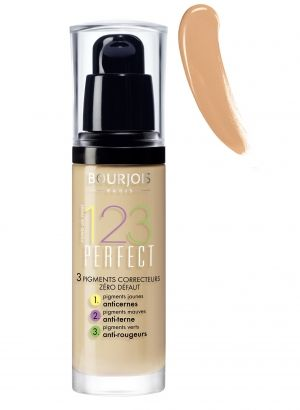 Коригиращ фон дьо тен Bourjois 123 Perfect Foundation 30ml 55 Dark Bejge