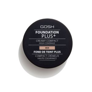 Компактна пудра фон дьо тен Gosh Foundation Plus + Creamy Compact  04