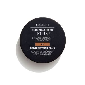 Компактна пудра фон дьо тен Gosh Foundation Plus + Creamy Compact  08