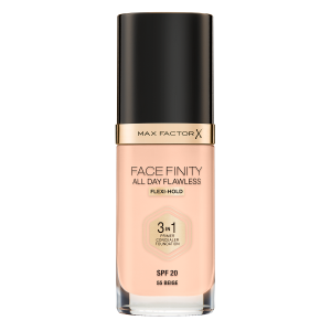Фон дьо тен Max Factor Facefinity All Day Flawless 3 in 1 55 Beige