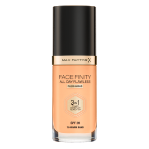 Фон дьо тен Max Factor Facefinity All Day Flawless 3 in 1 70 Warm Sand