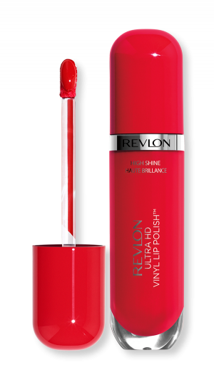 Течно червило с блясък Revlon Ultra HD Vinyl Lip Polish Lipstick 5.9ml 905 She's on fire