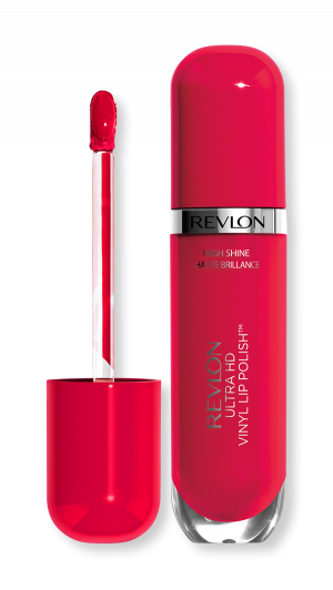 Течно червило с блясък Revlon Ultra HD Vinyl Lip Polish Lipstick 5.9ml 910 Cherry on top