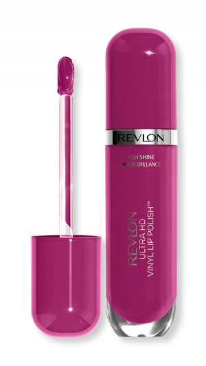 Течно червило с блясък Revlon Ultra HD Vinyl Lip Polish Lipstick 5.9ml 930 Violet Frenzy