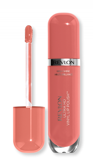 Течно червило с блясък Revlon Ultra HD Vinyl Lip Polish Lipstick 5.9ml 950 Act Natural