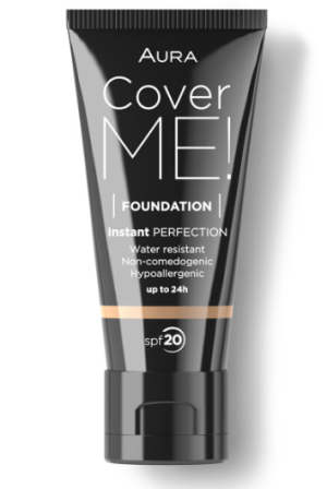 Фон дьо тен Aura Cover me! Liquid foundation SPF20 30ml 103 Sand