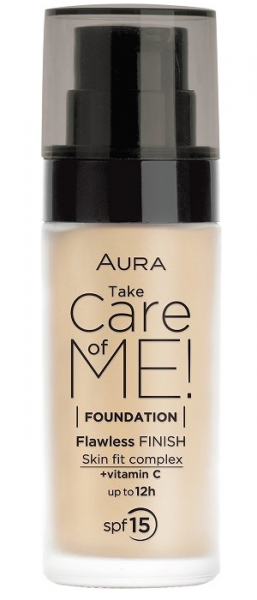 Фон дьо тен Aura Take Care of Me! Liquid foundation 30ml 801 Light Beige