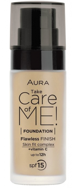 Фон дьо тен Aura Take Care of Me! Liquid foundation 30ml 802 Natural