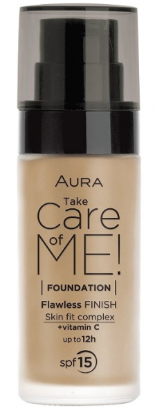 Фон дьо тен Aura Take Care of Me! Liquid foundation 30ml 804 Golden